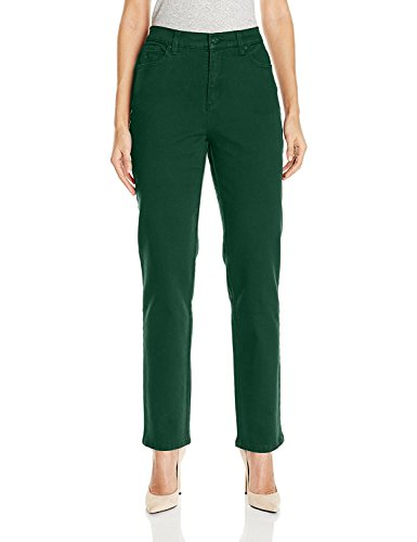 Gloria Vanderbilt Womens Plus Size Amanda Classic Tapered Jeans