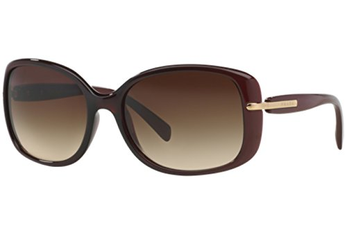 Prada PR08OS Sunglasses-IAD/6S1 Bordeaux Gradient Red (Brown Grad ()