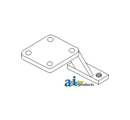 - 3049 Steering Bracket Assembly Fits Case-IH Tractor:M, Super MTA, 400,450,