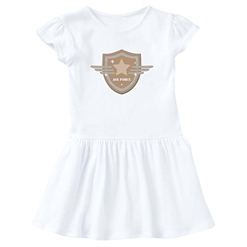 - inktastic - Air Force Crest Toddler Dress 4T White e87c