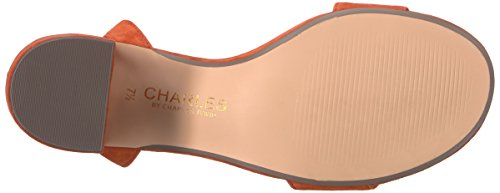 Charles Av Charles David Womens Keenan Kjole Sandal Kamel