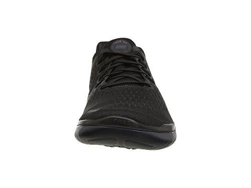 Nike Heren Gratis Rn 2018 Running Sneakers Zwart / Antraciet 942836-002