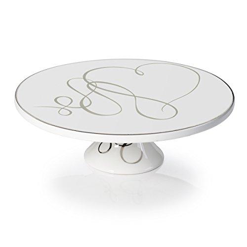 Mikasa Love Story 12-Inch Pedestal Cake Plate