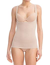 Farmacell Shape 606 Shaping Control Open-Bust Vest with Flat Belly Effect