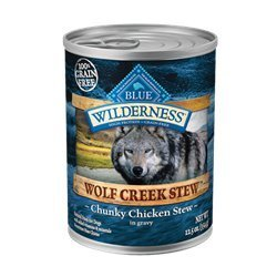 Blue Buffalo Wilderness Wolf Creek Stew Chicken Can Dog Food 12.5 oz (12 in a case) by Blue Buffalo