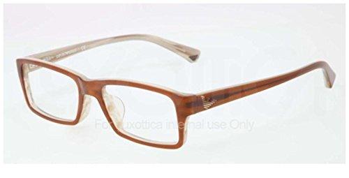 Emporio Armani EA3003F Eyeglasses-5054 Brown/Variegated - Eyeglasses Vari