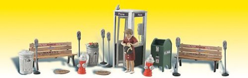 Street Accessories (Benches, Fire Hydrants, Parking Meters etc.)