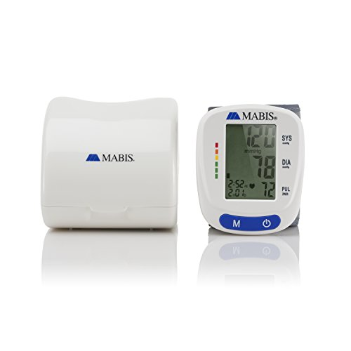 Blood Cuff Portable Wireless Blood Gauge Kit Monitors Pulse, Heartbeat, and High & Pressure