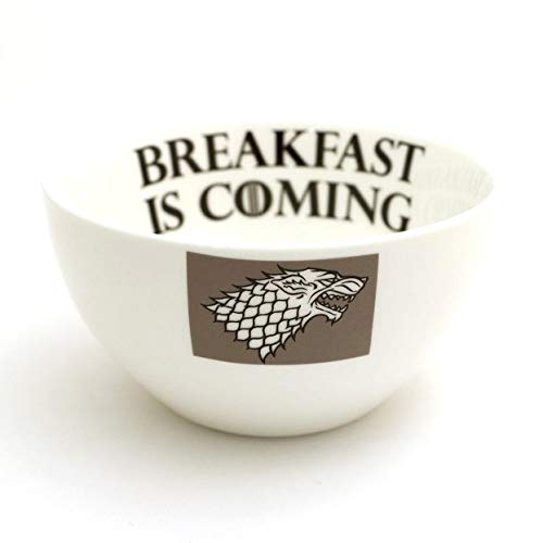 Breakfast is Coming - Game of Thrones Cereal Bowl ()