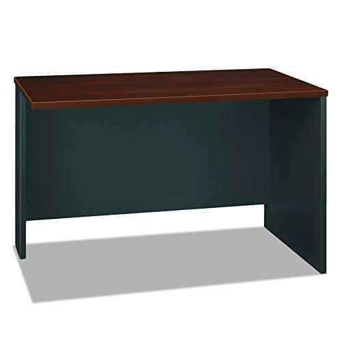 Series C Collection 48W Return Bridge in Hansen Cherry - Office Desk Height Bridge