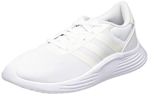 Adidas Women's Lite Racer 2.0 FTWR Chalk White/Core Black Running Shoes-7 UK (EG3295)