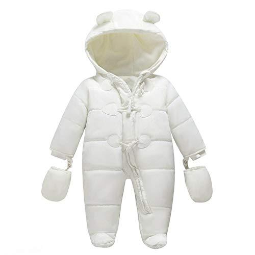 Baby Winter Jumpsuit Newborn Fleece Romper Infant