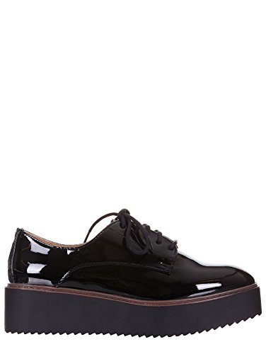 Steve Madden Girl, Oxford, Sneakers, Donna, Vernice, Lacci, Nero