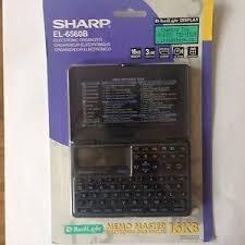 Sharp EL-6560B Electronic Organizer Memo Master 16KB Vintage