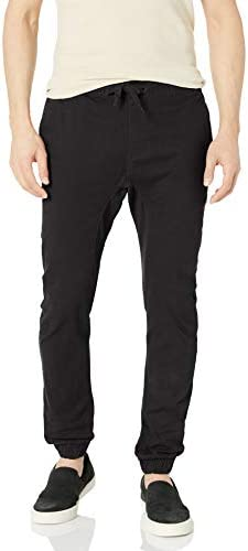 Southpole Men's Basic Stretch Twill Jogger Pants-Reg and Big & Tall Sizes