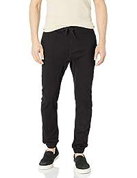 Men's Basic Stretch Twill Jogger Pants-Reg and Big & Tall Sizes