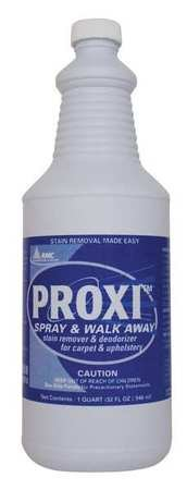 Carpet Cleaner, Bottle, Unscented, PK12 by PROXI