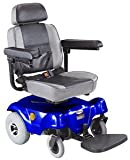 Compact Rear-Wheel Drive Power Chair, Blue (Battery Inc.)