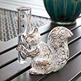 Colonial Tin Works Squirrel Rain Gauge