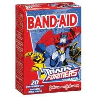 Band Aid Childrens Adhesive Bandages (Band-Aid Children's Transformers Adhesive Bandages-20ctAssorted Sizes)