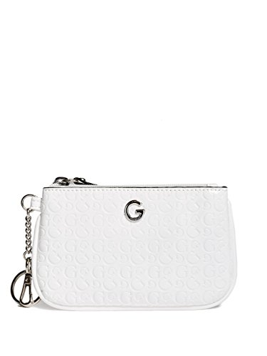 G by GUESS Women's Logo Faux-Leather Coin Case