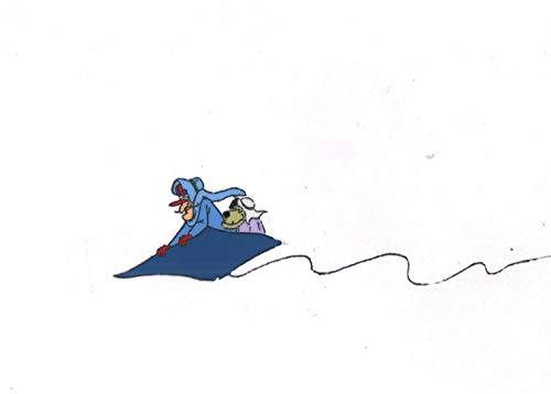 Dastardly Muttley Production Animation art cell and drawing Hanna Barbera