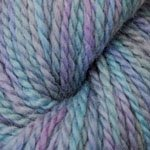 (Plymouth Baby Alpaca Worsted Collage Yarn, 203 Turquoise & Purple)