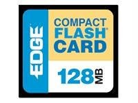 128MB PREMIUM COMPACT FLASH CARD - Edge Premium Compactflash Card