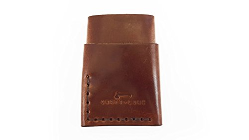 by Wallet Minimal Handmade and Craft Port Brown Card Leather Lore Wallet fqEYx5Xw