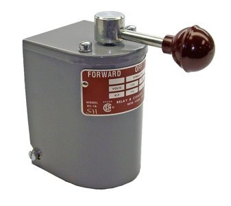 Relay & Control RS-1A-SH Single Phase Only Reversing Drum Control with Steel Handle (Reversing Switch Motor)