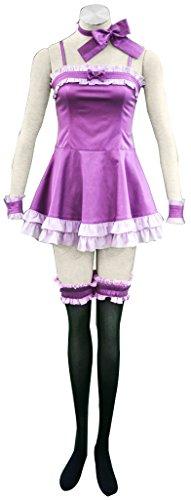 Mtxc Women's Vampire Knight Cosplay Costume Yuki Cross 1st Evening Dress Size XXX-Large Purple -