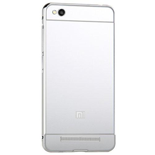 Xiaomi Redmi 3 Funda Case TOTOOSE, Ligero Marco de metal Parachoques Carcasa con Efecto espejo Duro Espalda Cubierta Protector para Xiaomi Redmi 3 Oro rosa Plata