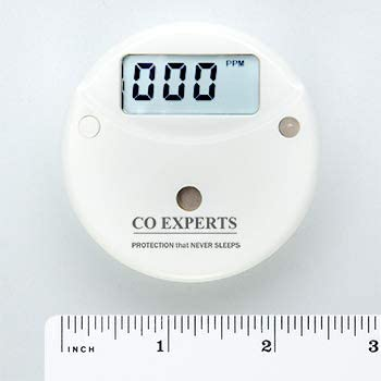 CO Experts Ultra Low Level Carbon Monoxide Health Monitor