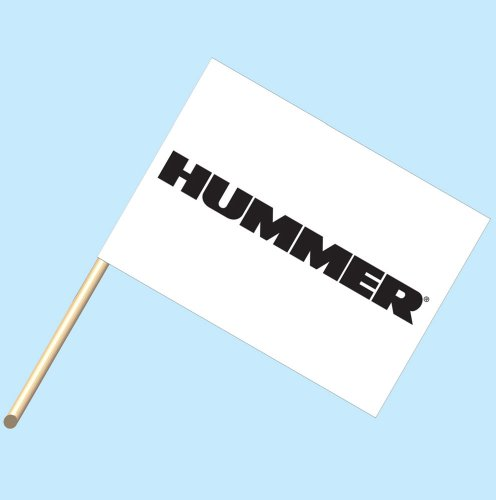 hummer-logo-neoplex-30-x-42-car-lot-flag-mounted-on-4-wooden-staff-pole