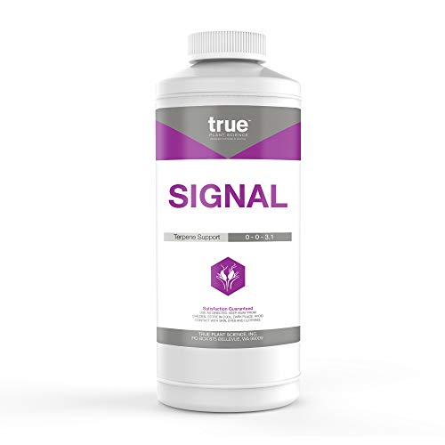 True Signal Terpene Enhancer Plant Nutrient Supplement, Flower Hardener and Increases Flavor Quart (32 oz)