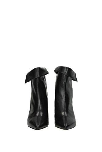 Bottines Noir BO013617H002S Femme EU Cuir Isabel Marant 85wgx7q5Y