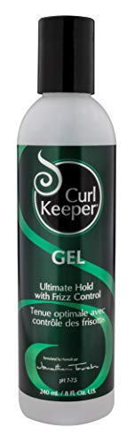- CURLY HAIR SOLUTIONS Curl Keeper Gel - Ultimate Hold Power With Frizz Control To Support All Your Favorite Hairstyles ( 8 Ounce / 240 Milliliter )