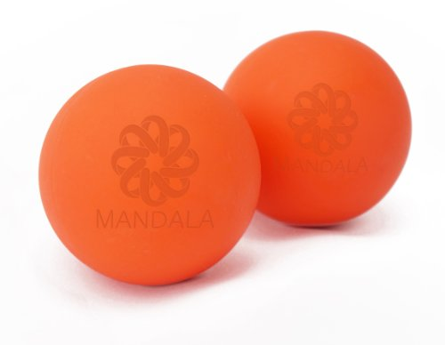 Mandala The Yoga Massage Ball - Best Trigger Point Ball Myofascial Release Yoga Therapeutics Yin Yoga Prenatal Massage Ball Best To Relieve Stress and Relax Tight Muscles - Lifetime Guarantee