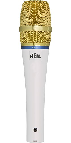 Heil Sound PR 22 Spotlight Series Dynamic Microphone White