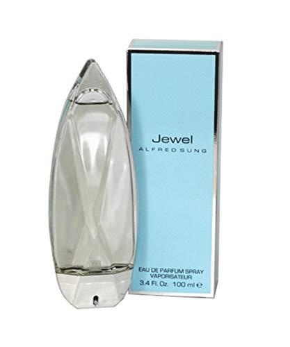Alfred Sung Jewel Eau De Parfum Spray 3.4 Oz/ 100 Ml for Women By Alfred Sung, 3.4 Fl Oz
