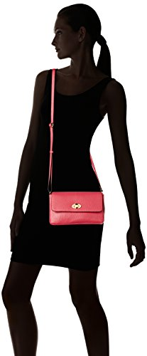 Loxwood Petit Sac Crossover Cuir, Borsa a tracolla Donna Rose (Orchid)