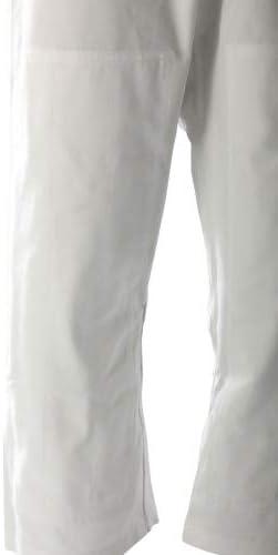 Bu Jin Design Aikido Drawstring Artes Marciales Pantalones De Entrenamiento De 8 Oz Para Hombres Y Mujeres Pantalones De Algodon Organico Amazon Es Deportes Y Aire Libre