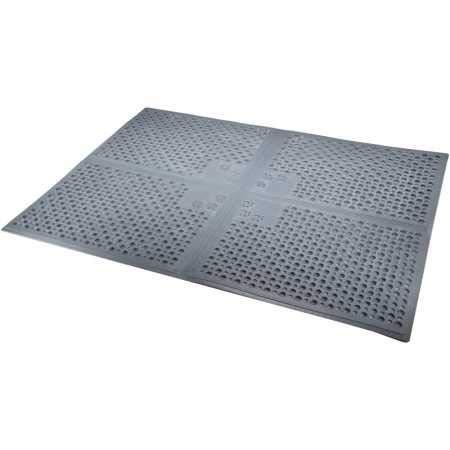 Petlinks Purr-fect Paws Litter Mat, X-Large, Grey