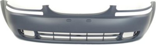 CPP Primed Front Bumper Cover Replacement for 2004-2008 Chevrolet Aveo, Aveo5