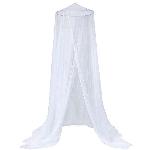 Anpro Mosquitero Mosquitero para cama 2 5mx12mx0 6m Mosquito repelente de insectos Agrained para la pierna doble