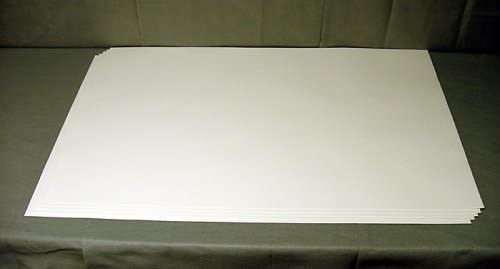 5 Individual Sheets Mounting Paper