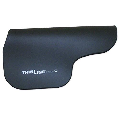 (ThinLine Contour Saddle Pad, Regular, Black)