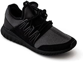 half off cb304 1d151 adidas Unisex Kids Tubular Radial J Black Sneakers (5 M US ...