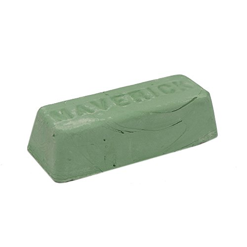 1 Pound Green Rouge Extra Fine Buffing Compound For Metal Polishing Aluminum, Stainless Steel, Steel, Jewelry etc. Perfect Bar for Leather Strops.