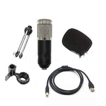 AKDSteel BM800USB - Micrófono de Condensador para Ordenador de ...